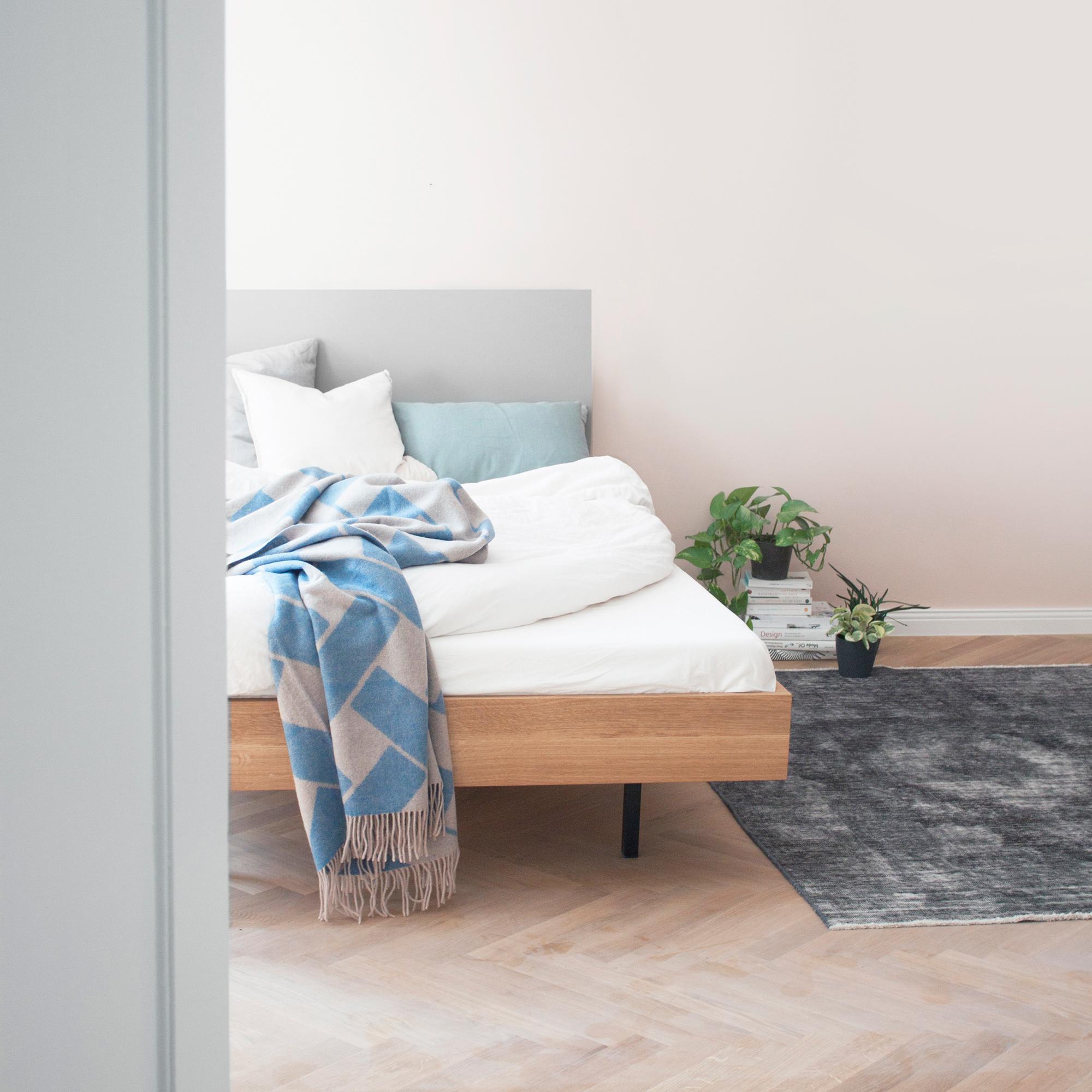 Schlafzimmer Interieur mit Unidorm Bett