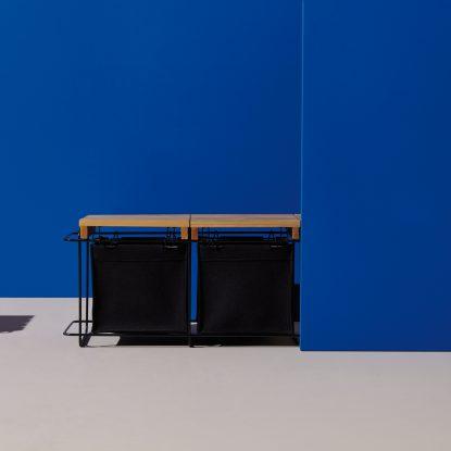 Grit Indoor Bank praktisches Sitzmöbel mit Stauraum