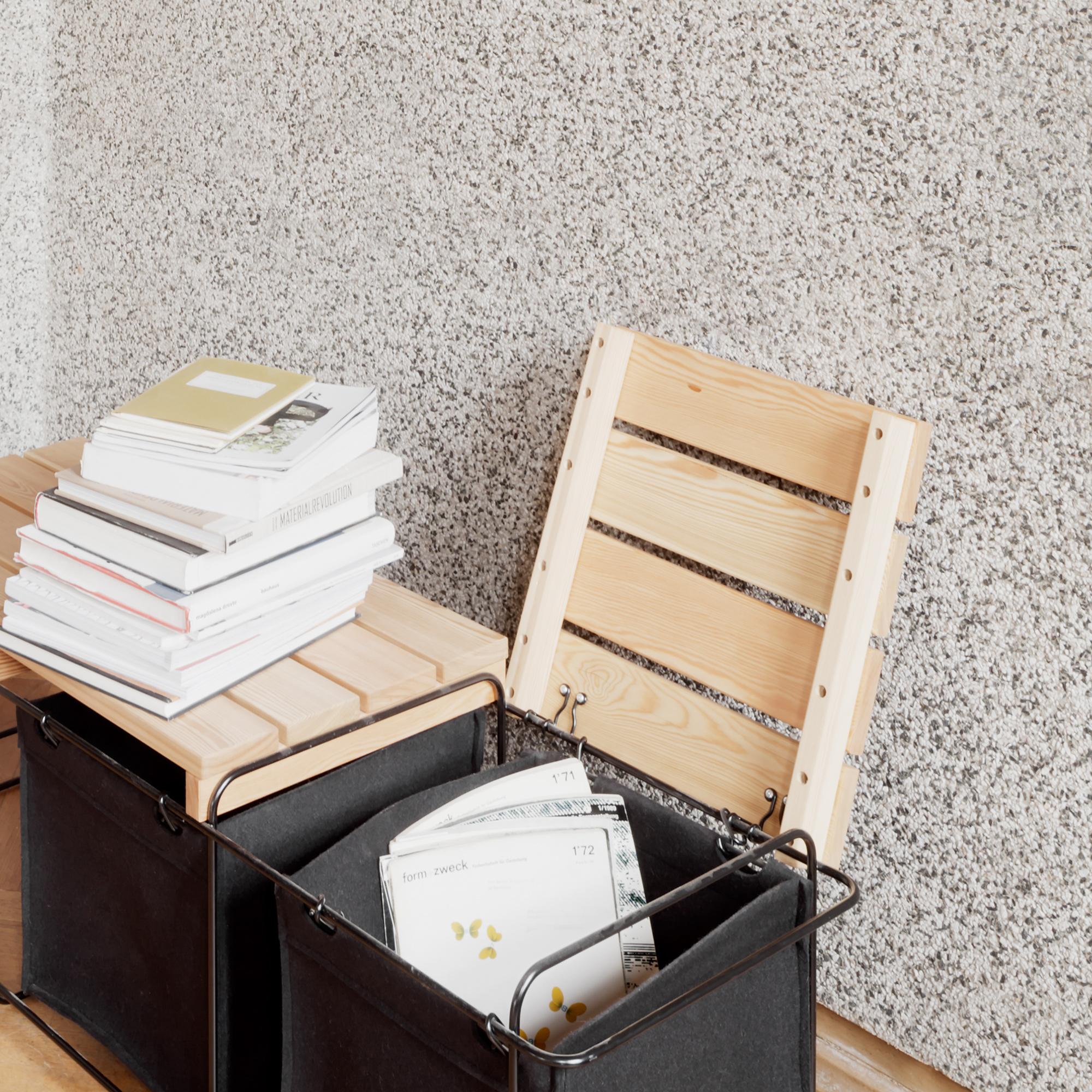 Grit Indoor mit Stauraum für Wäsche oder Zeitschriften