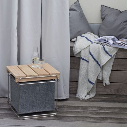 Grit Hocker oder Beistelltisch Außenmöbel