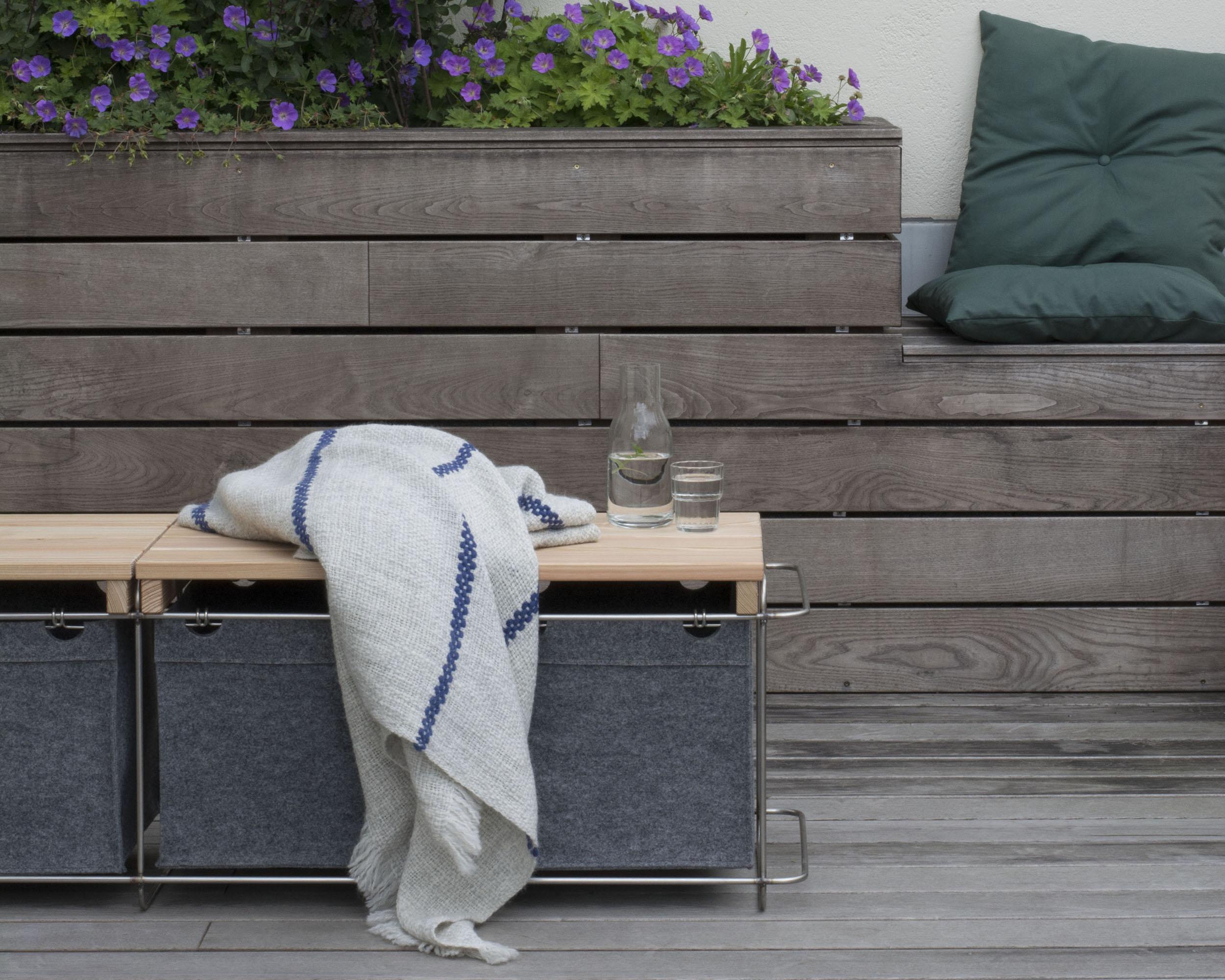 Grit Sitzmöbel für Terrasse, Balkon oder Garten