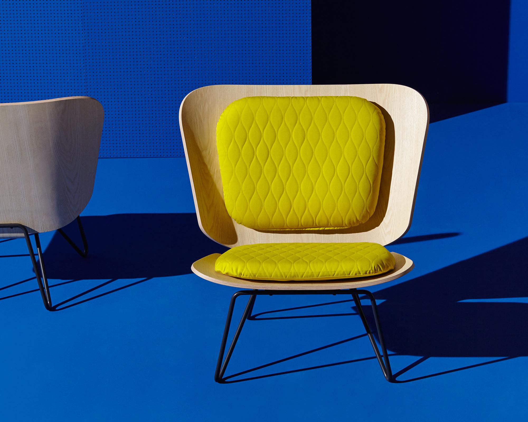 Lenz Sessel aus Eschefurnier