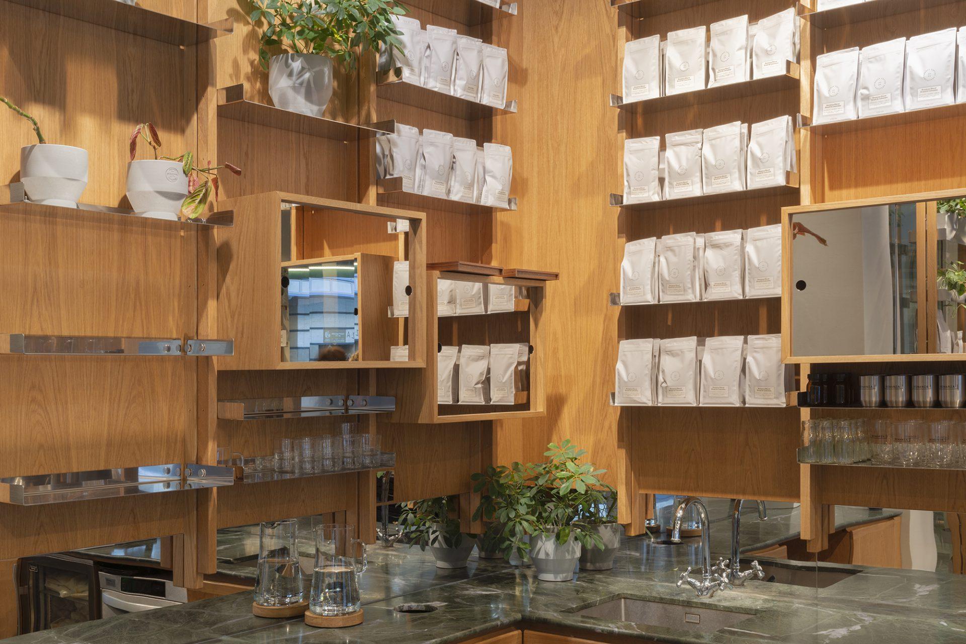 Bonanza Café Interior